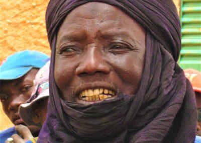 Nideye, chef du village